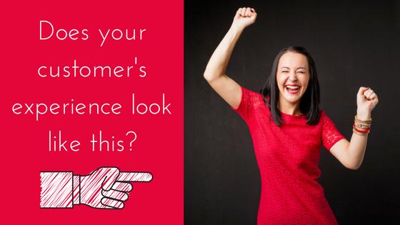 Customer experience; happy customer
