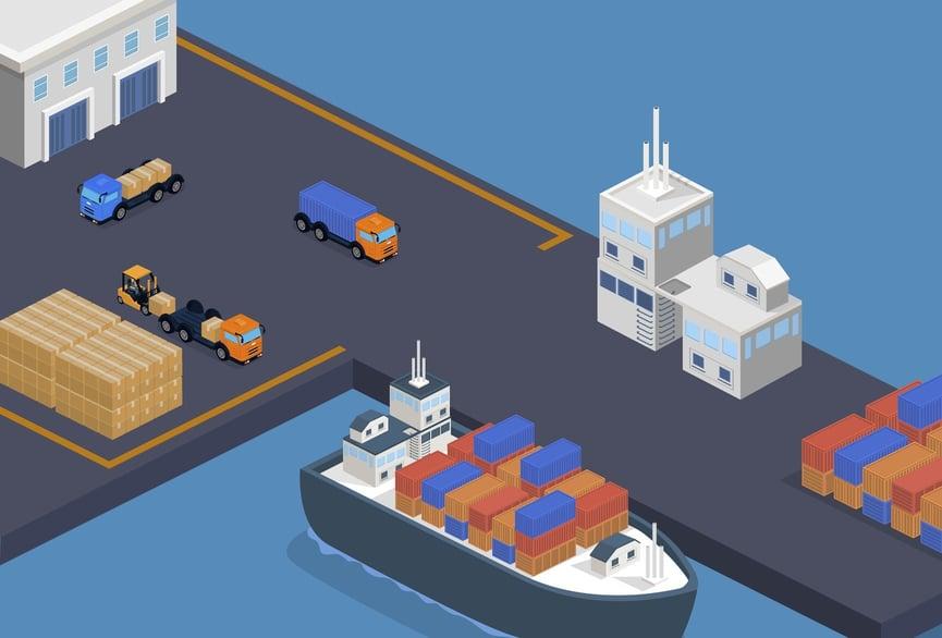 FTZ ASF Warehouse Port