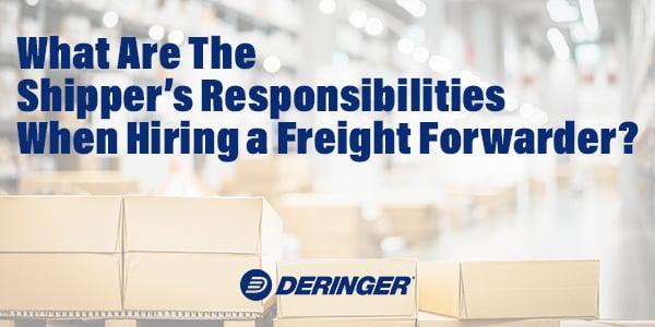 ShipperResponsibilities